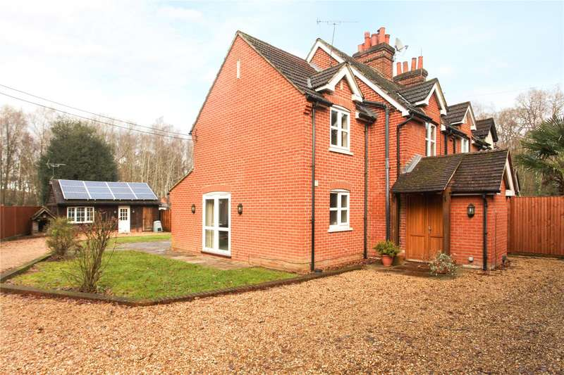 4 Bedrooms Semi Detached House for sale in Pirbright Road, Normandy, Guildford, Surrey, GU3