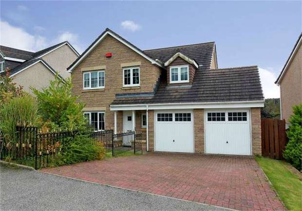 4 Bedrooms Detached House for sale in Coutens Park, Oldmeldrum, Inverurie, Aberdeenshire