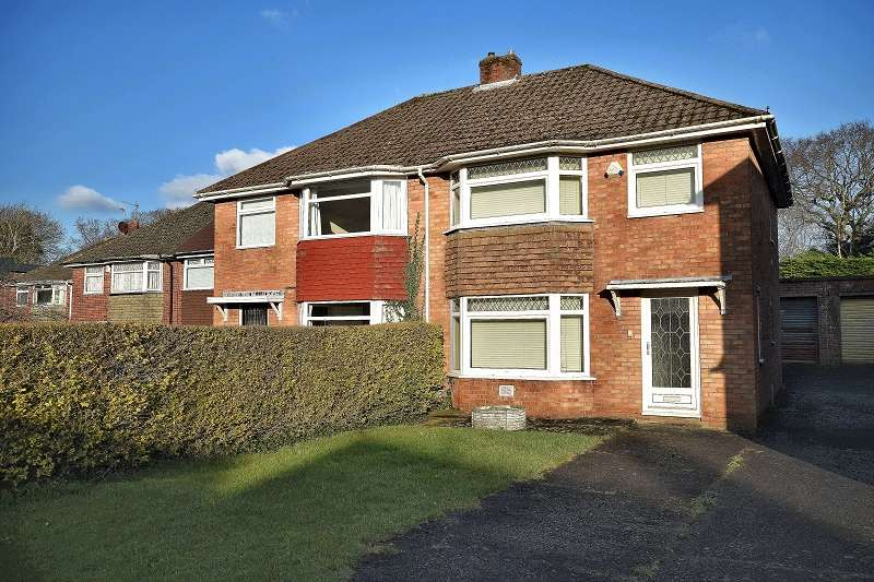 3 Bedrooms Semi Detached House for sale in Torrens Drive, Lakeside, Cardiff. CF23 6DR