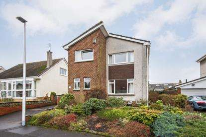 4 Bedrooms Detached House for sale in Powburn Crescent, Uddingston