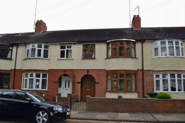 3 Bedrooms Terraced House for sale in Delapre Crescent Road, Far Cotton, Northampton NN4 8NG