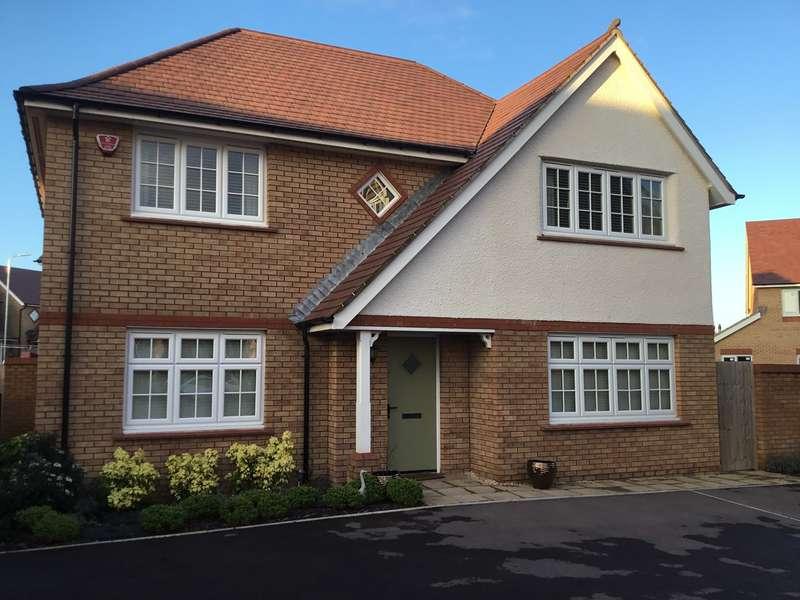 4 Bedrooms Detached House for sale in Llanvair Grange Close, Newport, Newport, NP20