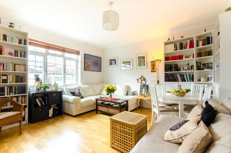 2 Bedrooms Flat for sale in Lichfield Grove, Finchley Central, N3