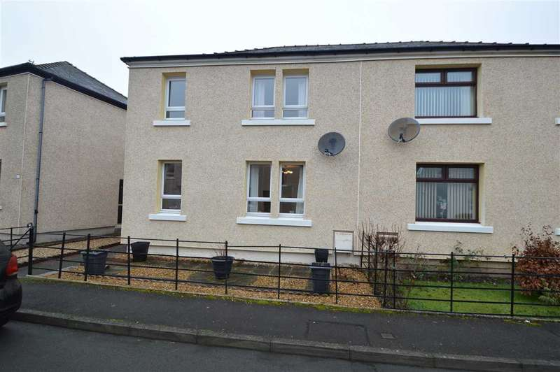 3 Bedrooms Semi Detached House for sale in Renwick Place, Sanquhar, Dumfries