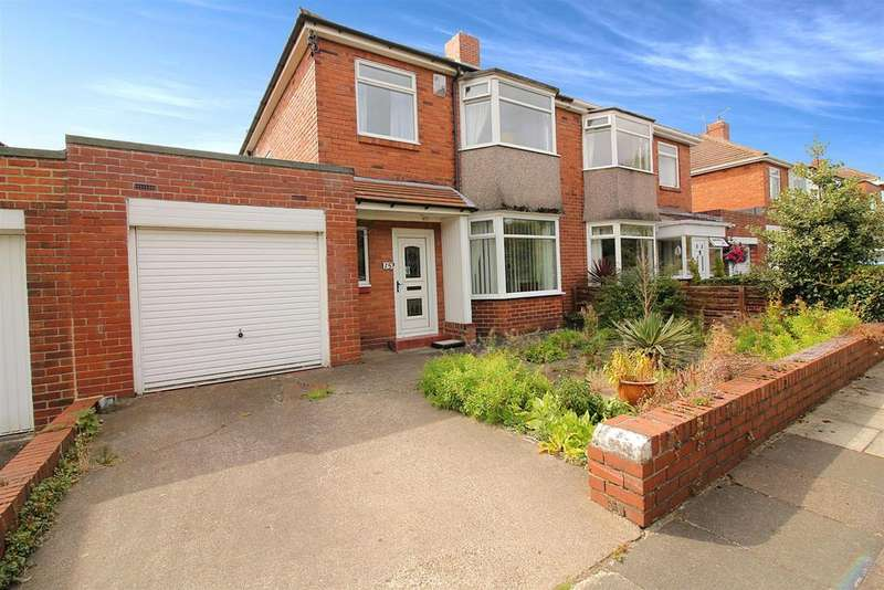 3 Bedrooms Semi Detached House for sale in Whitton Place, High Heaton, Newcastle Upon Tyne