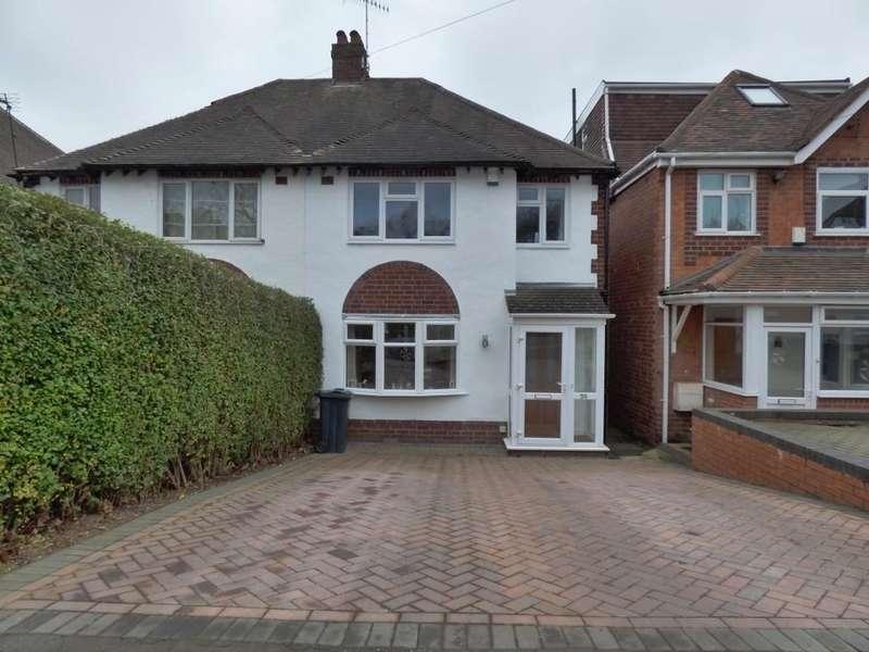 3 Bedrooms Semi Detached House for sale in Woodleigh Avenue, Harborne, Birmingham, B17 0NJ