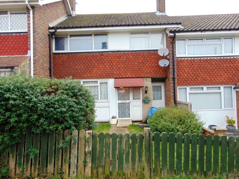 3 Bedrooms End Of Terrace House for sale in Queen Elizabeths Garden, New Addington, Croydon, CR0 0HA