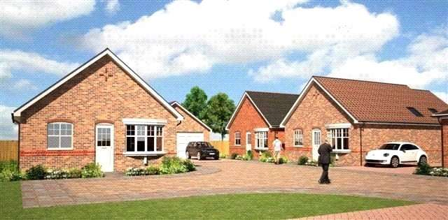 2 Bedrooms Detached Bungalow for sale in Westlands, Coxhoe, DH6