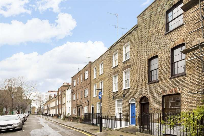 3 Bedrooms Terraced House for sale in Wynyatt Street, London, EC1V