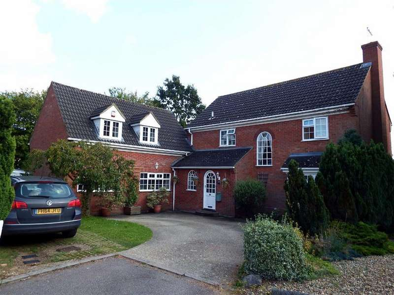 5 Bedrooms Detached House for sale in Edmonds Drive, Stevenage, Hertfordshire, SG2