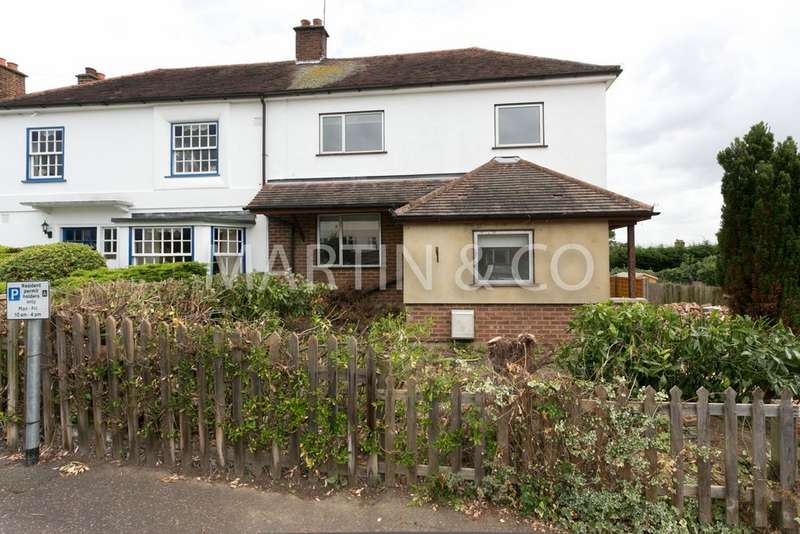 4 Bedrooms Semi Detached House for sale in Sunnyside Road, Epping CM16