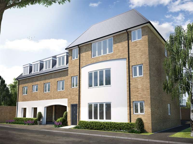 2 Bedrooms Apartment Flat for sale in Coronation House, Gogmore Lane, Chertsey, Surrey, KT16