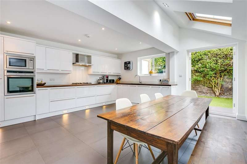 4 Bedrooms Terraced House for sale in Brookville Road, Fulham, London