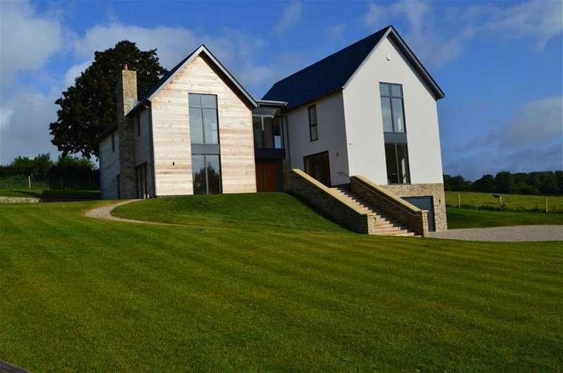5 Bedrooms Detached House for sale in Tarrant Gunville, Blandford Forum, Dorset