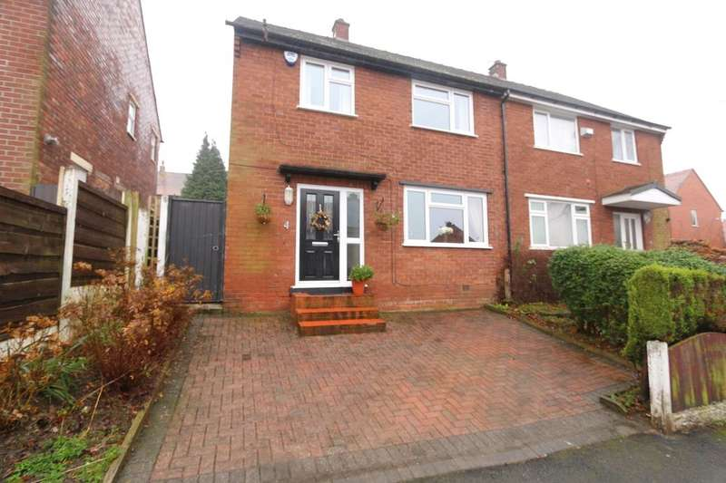 3 Bedrooms Semi Detached House for sale in Worthington Road, Denton, Manchester, M34