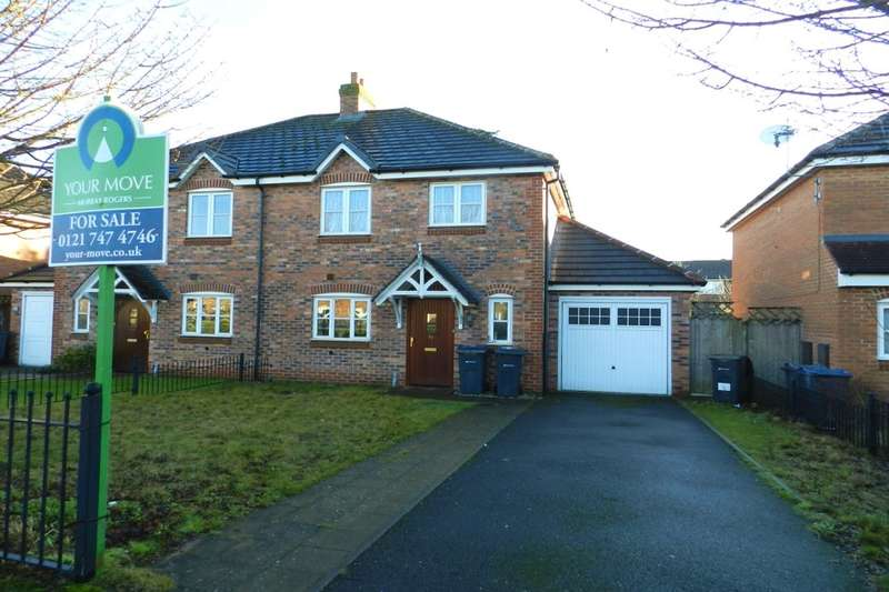 3 Bedrooms Semi Detached House for sale in Embleton Grove, Shard End, Birmingham, B34