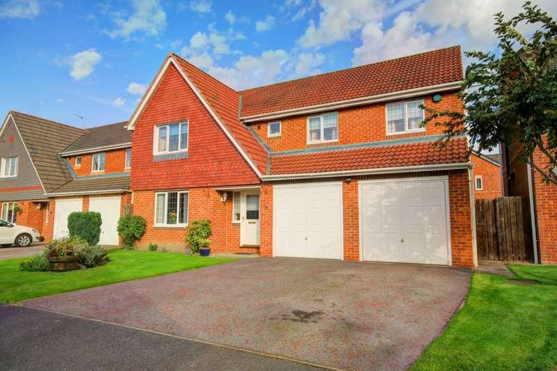 4 Bedrooms Detached House for sale in Barnard Court, Woodstone Village, Houghton Le Spring, DH4