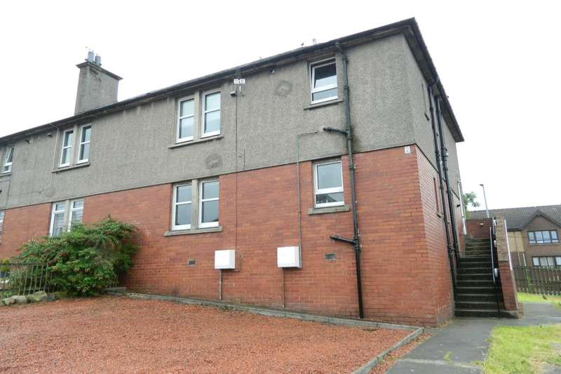 2 Bedrooms Flat for sale in Hozier Street, Carluke, ML8