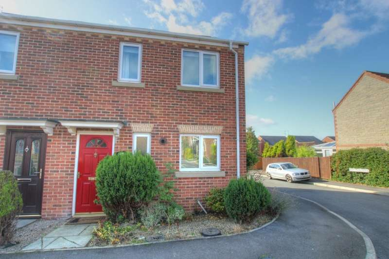 3 Bedrooms Semi Detached House for sale in Esh Wood View, Ushaw Moor, Durham, DH7