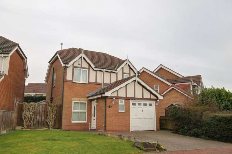 3 Bedrooms Detached House for sale in Thirlington Close, Windsor Gardens, Newcastle Upon Tyne, NE5
