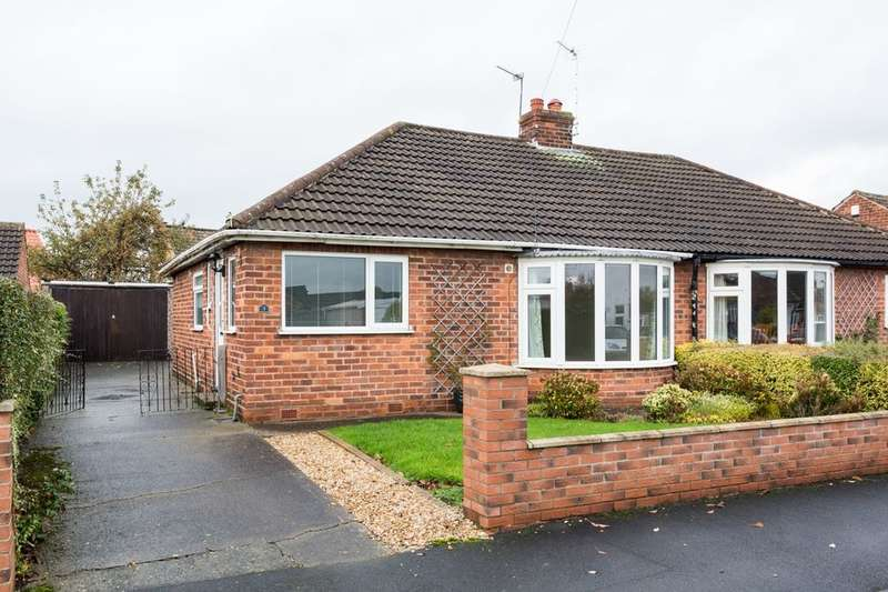 2 Bedrooms Semi Detached Bungalow for sale in Ash Close, Off Stockton Lane, York, YO31