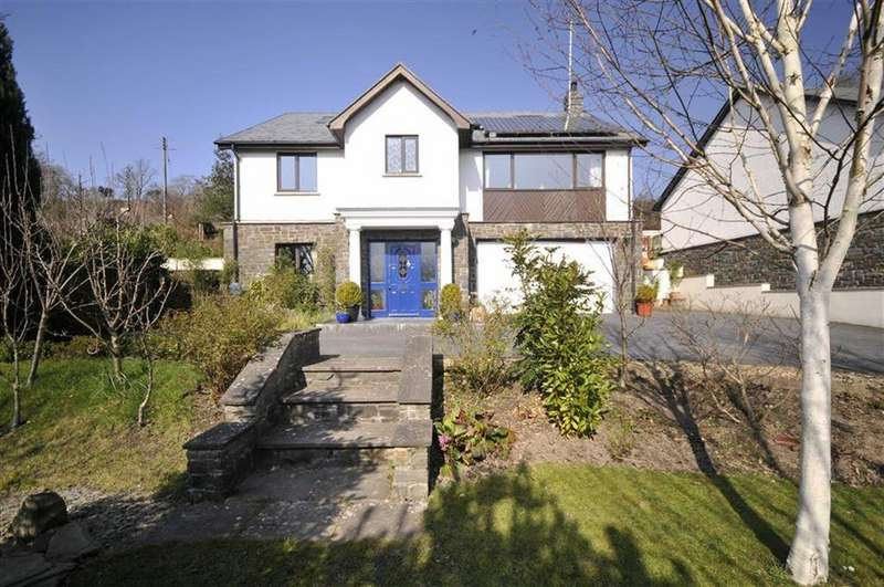 4 Bedrooms Detached House for sale in Carlton House, Capel Bangor, Aberystwyth, Ceredigion, SY23