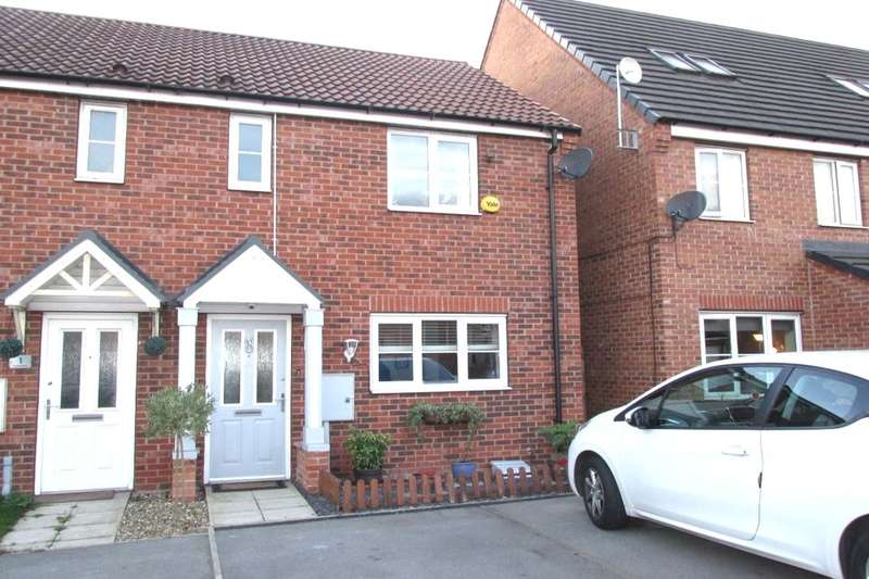 3 Bedrooms Semi Detached House for sale in Linnet Garth, Scunthorpe, DN16