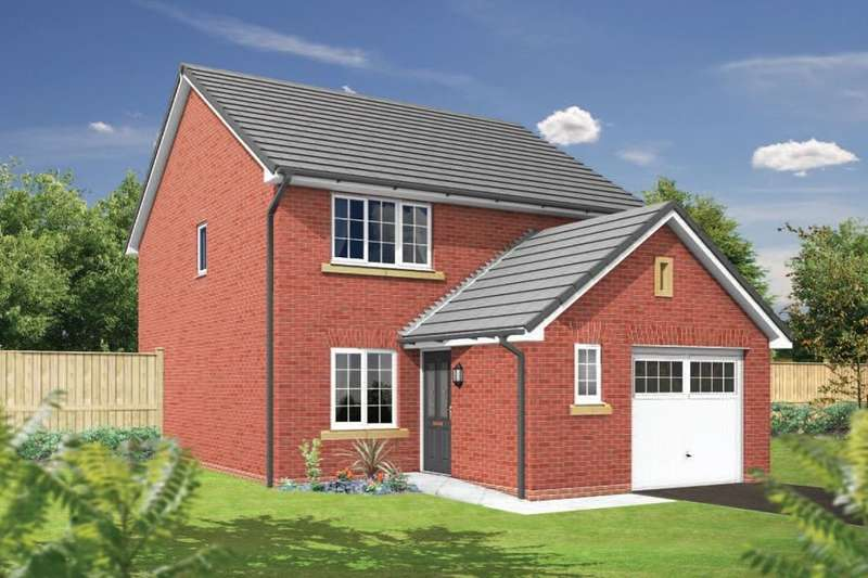 3 Bedrooms Detached House for sale in The Paddocks, Sandy Lane, Higher Bartle, Preston, PR4