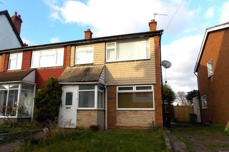 3 Bedrooms Semi Detached House for sale in Manor Road, Stechford, Birmingham, B33