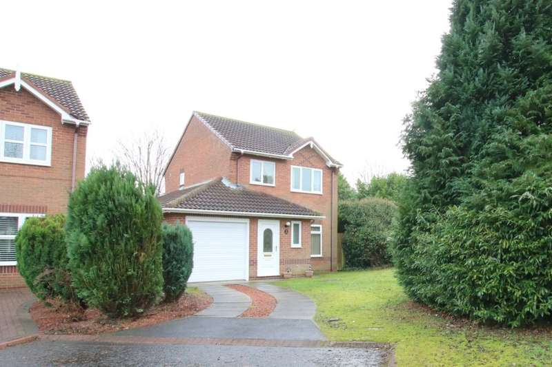 3 Bedrooms Detached House for sale in Ovingham Close, Washington, NE38