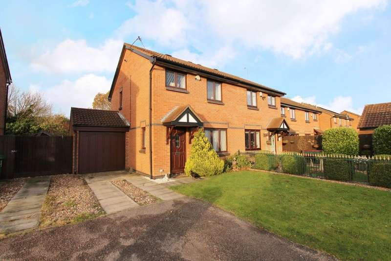 3 Bedrooms Semi Detached House for sale in Courtney Close, Wollaton , Nottingham, NG8