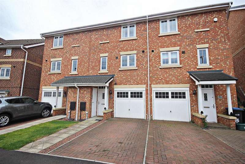 2 Bedrooms Town House for sale in Holly Crescent, Sacriston, Durham
