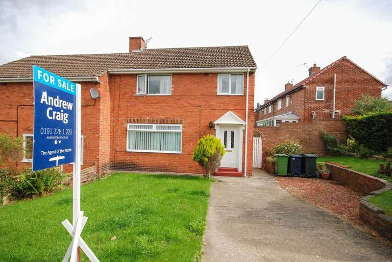 3 Bedrooms Semi Detached House for sale in Milton Road, Whickham