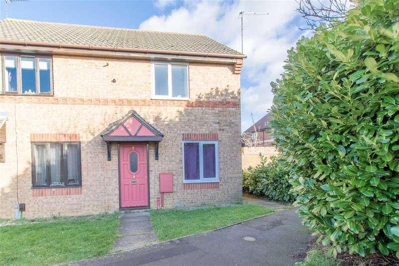 2 Bedrooms Semi Detached House for rent in Primrose Close, Kettering, Kettering