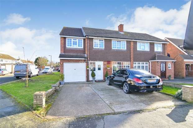 4 Bedrooms Semi Detached House for sale in Perrysfield Road, Cheshunt, WALTHAM CROSS, Hertfordshire