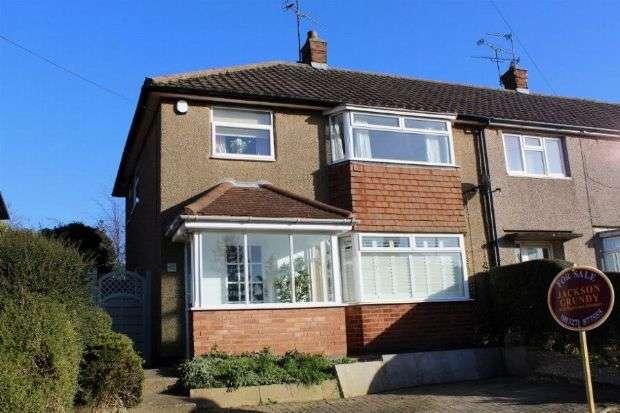 3 Bedrooms Semi Detached House for sale in Tennyson Road, Daventry, Northants NN11 9DH