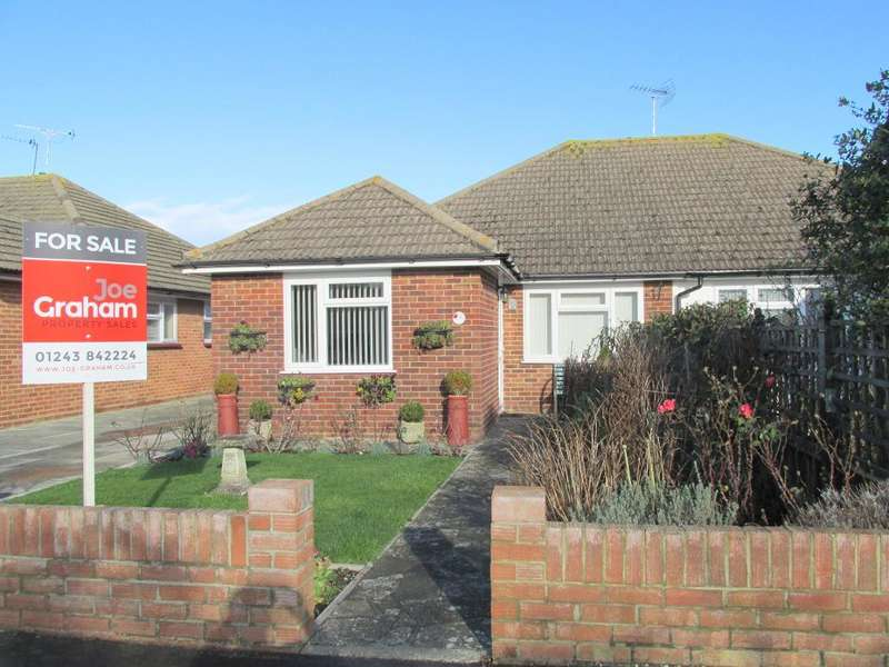 3 Bedrooms Bungalow for sale in Sandymount Close, North Bersted, Bognor Regis, West Sussex, PO22 9EL