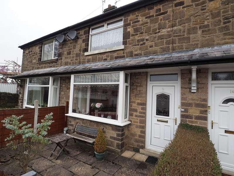 2 Bedrooms Terraced House for sale in Arden Estate, New Mills, High Peak, Derbyshire, SK22 4PH