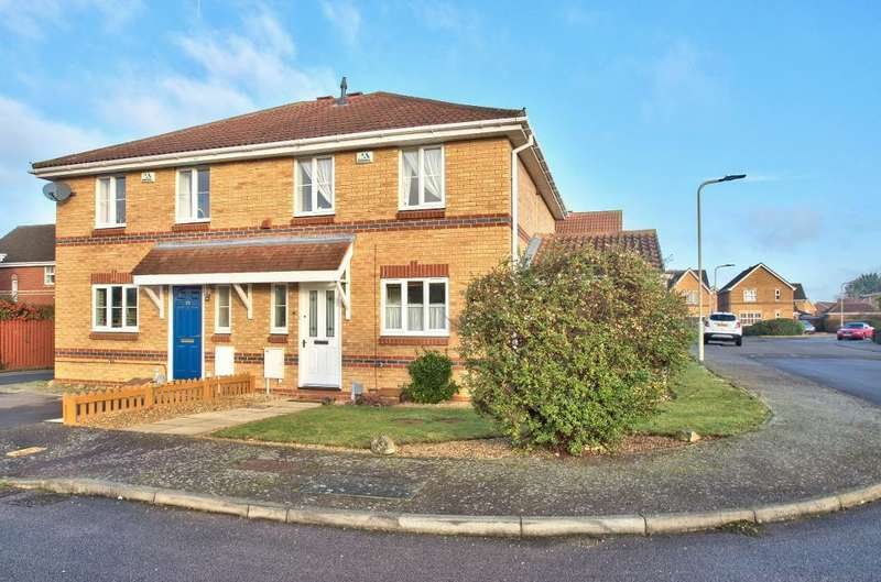 3 Bedrooms Semi Detached House for sale in Sundew Close, Bedford, MK42 0SR