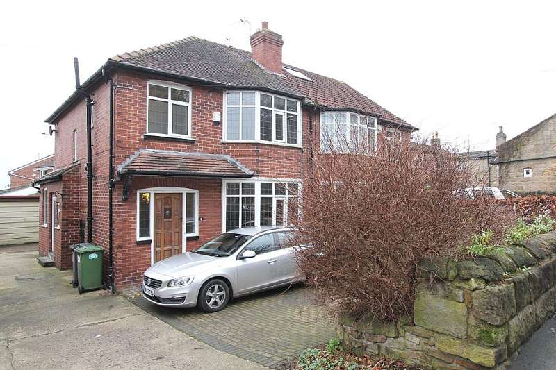 3 Bedrooms Semi Detached House for sale in Parkside Road, Leeds, West Yorkshire, LS6 4LY