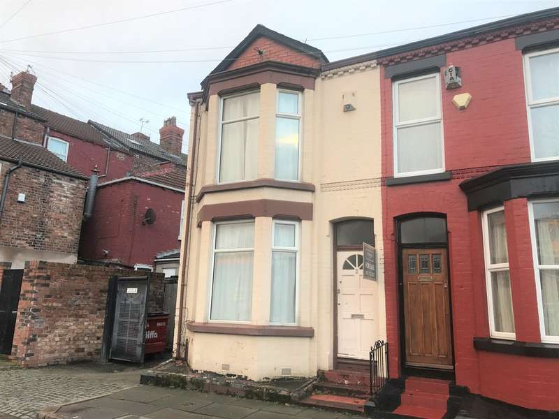 2 Bedrooms End Of Terrace House for sale in Gorsebank Road, Mossley Hill, Liverpool, L18