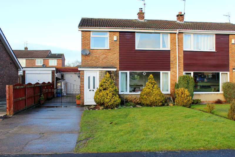 3 Bedrooms Semi Detached House for sale in Croftway, Selby
