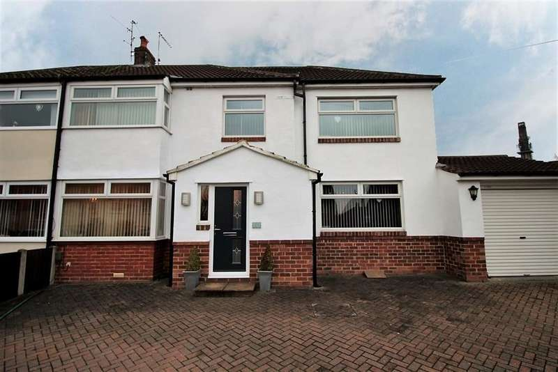 4 Bedrooms Semi Detached House for sale in Upper Carr Lane, Calverley, LS28