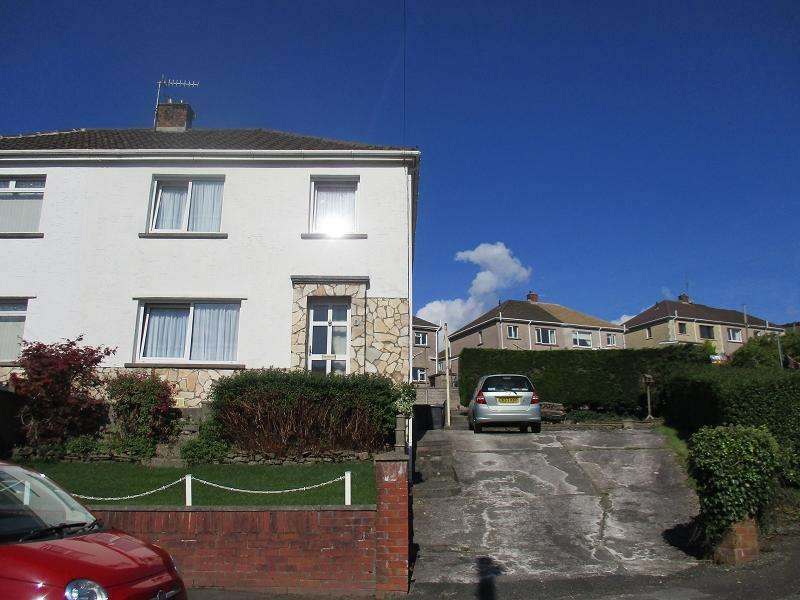 3 Bedrooms Semi Detached House for sale in Maesglas , Cwmavon, Port Talbot, Neath Port Talbot.