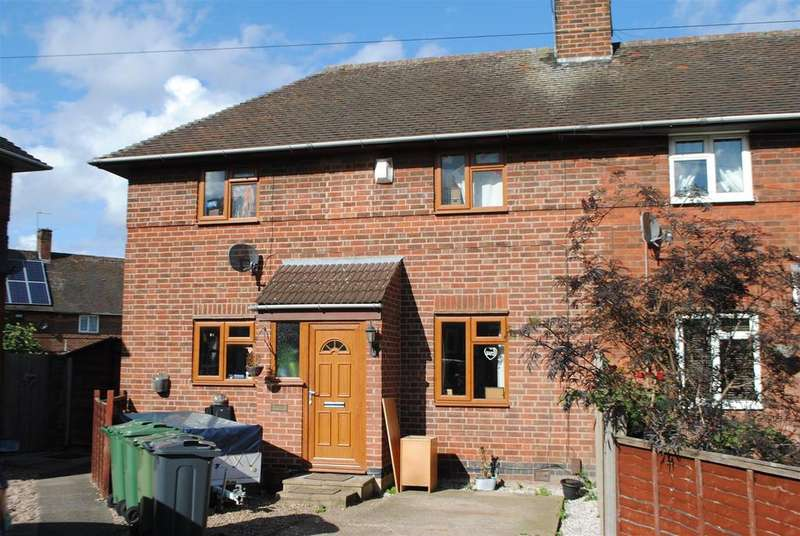 2 Bedrooms Semi Detached House for sale in Woodthorpe Road, Loughborough