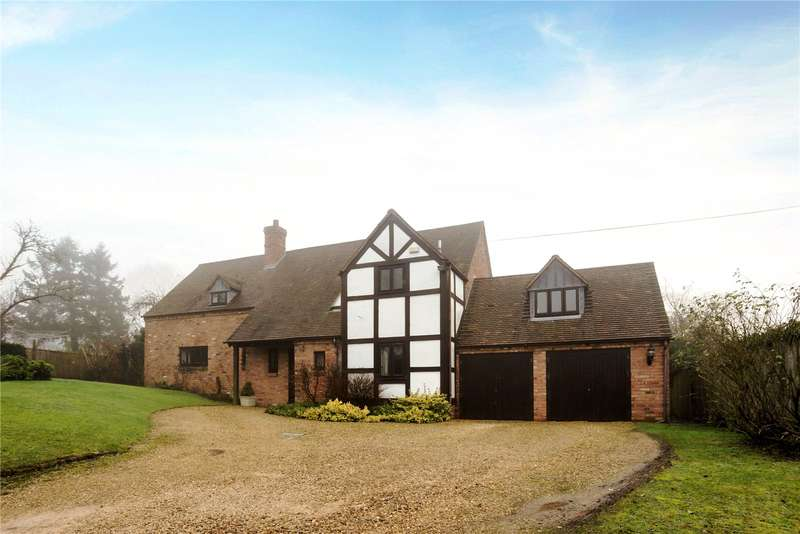 4 Bedrooms Detached House for sale in Ab Lench Road, Church Lench, Evesham, Worcestershire, WR11