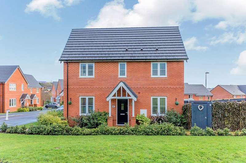 3 Bedrooms Detached House for sale in Sandiacre Avenue, Brindley Village, Stoke-On-Trent, ST6