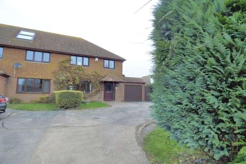 3 Bedrooms Semi Detached House for sale in The Street, West Hougham, Dover, CT15