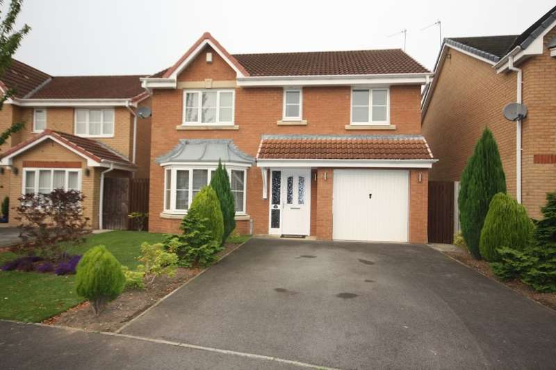 4 Bedrooms Detached House for sale in Heslington Gardens, Guisborough, TS14