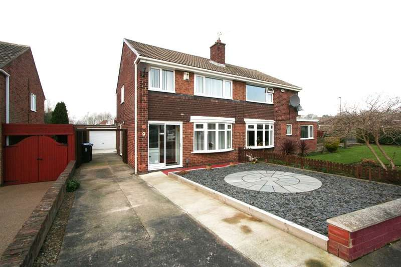 3 Bedrooms Semi Detached House for sale in Kimmerton Avenue, Acklam, Middlesbrough, TS5